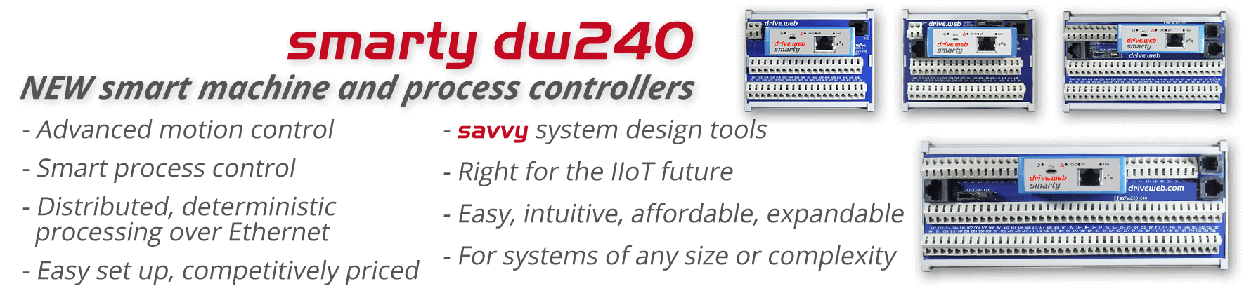 smarty dw240 - smart motion and process controllers